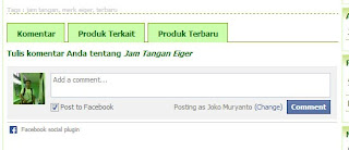Setting Komentar Facebook Di Toko Online