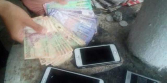 Saat Dibekuk, Pemuda Yang Mengemis Ini Miliki Uang Jutaan Rupiah Dan iPhone