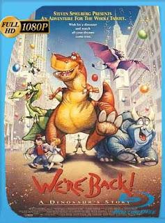 Rex, un dinosaurio en Nueva York 1993 HD [1080p] Latino [Mega] dizonHD