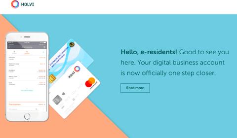 Holvi pour les e-residents