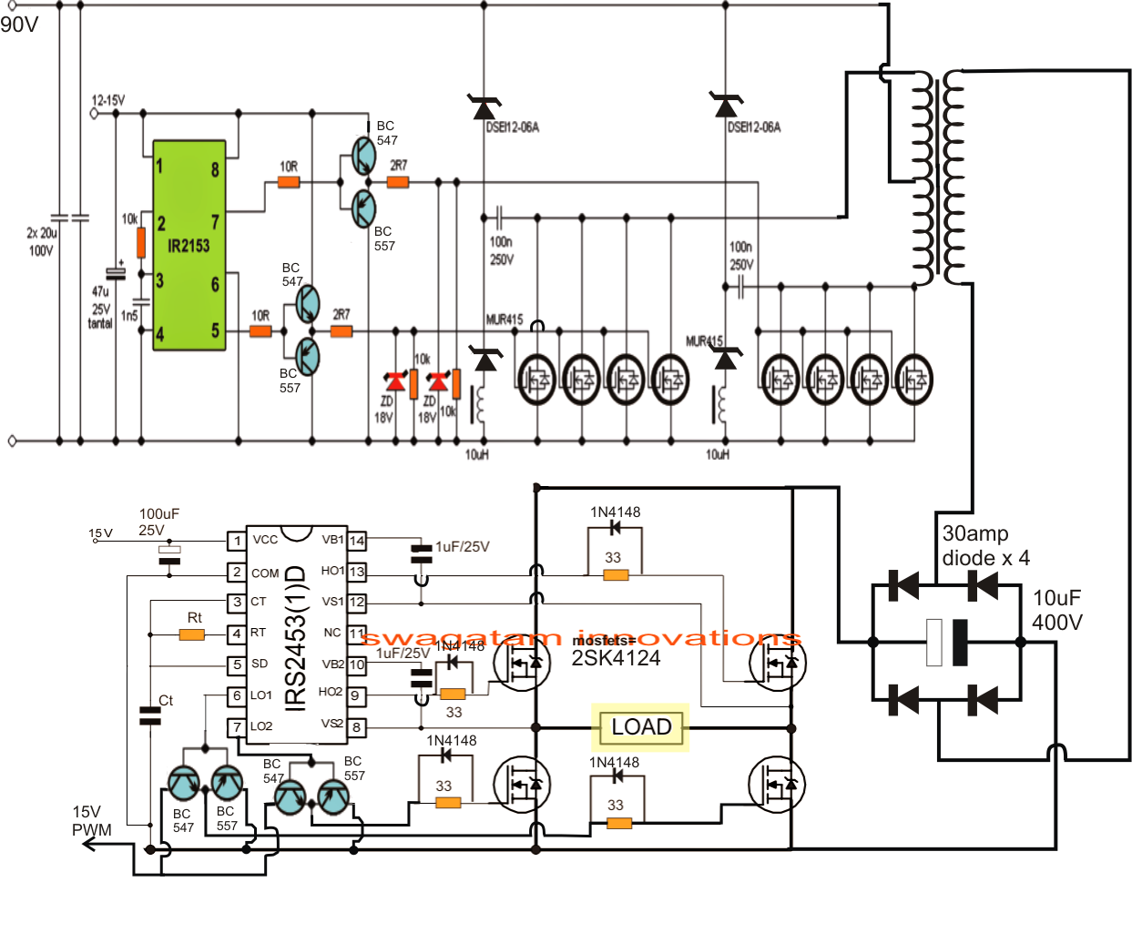 pwm solar charge controller schematic with Inverter Based Generator on Index2 likewise Inverter Based Generator as well Solar Controller Wiring Diagram together with Mosfet Based 500 Watt  m Inverter With Solar Battery Charger Controller My B Tech Eee Final Year Project also Ev Charger Installation Diagram.