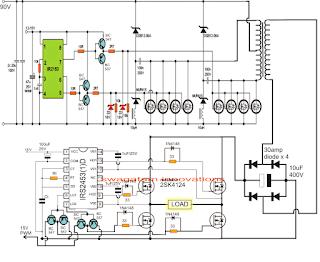PWM Sinewave 5kva Inverter Circuit ~ Electronic Circuit