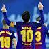 Con dos golazos de Lionel Messi y Luis Suarez, Barcelona se lo dió vuelta a Real Sociedad