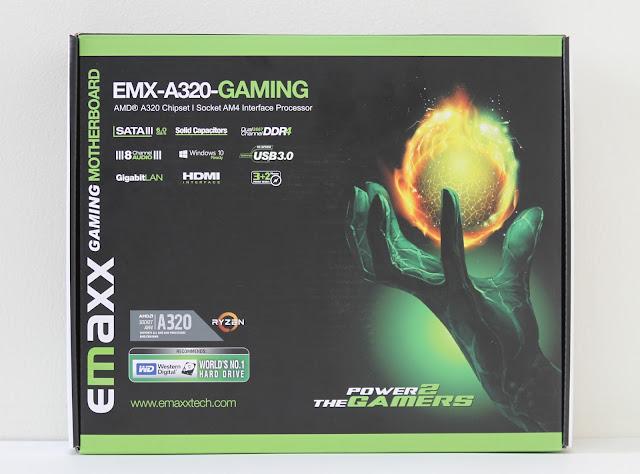Emaxx a320 motherboard box