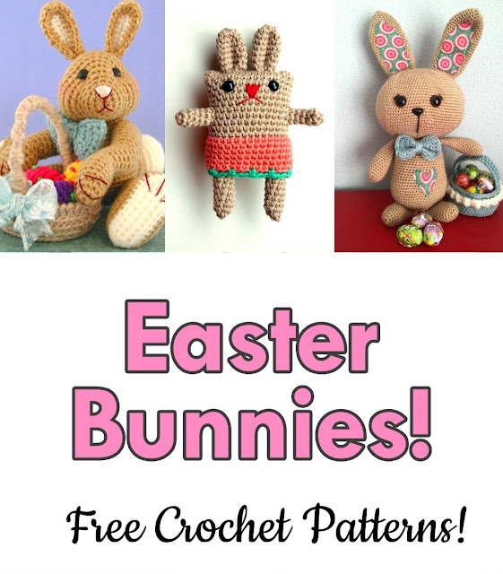 AmVaBe Crochet: Easter Bunnies: Free Crochet Patterns!