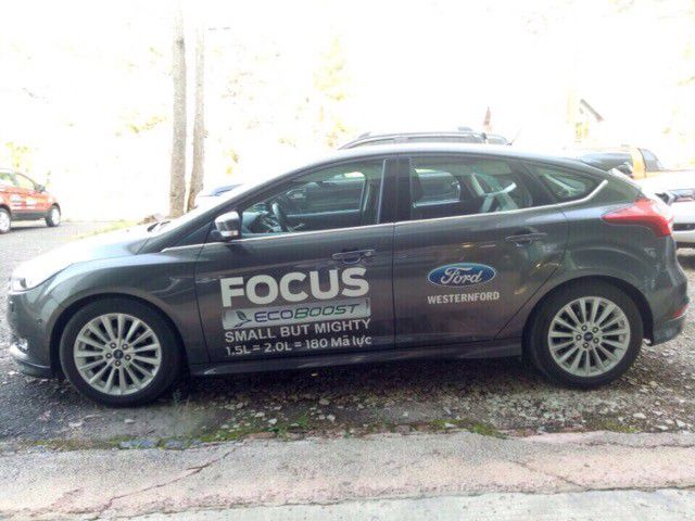 BÁN XE FORD CŨ  FORD FOCUS SPORT 1.5L ECOBOOST - AT - 2016