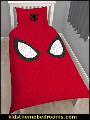 Spiderman  spiderman bedroom decorating ideas - Spiderman rooms - spiderman room decor -  Spiderman Bedroom Decor -  spiderman Bedroom Ideas - superhero bedrooms - Spider web curtains  - spiderweb bedding - Marvel Heroes wall murals -  spiderman bedroom decor - Avengers wallpaper murals -  superhero theme bedrooms - Superhero bedroom ideas - boys bedrooms