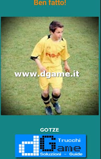 Soluzioni Guess the child footballer livello 30