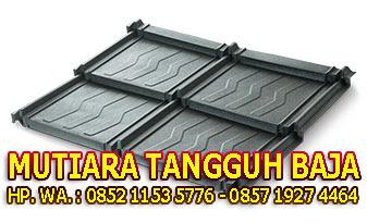 Jual Genteng Metal Minimalis Modern Koko Roof 2x4 Murah Perlembar Jakarta Timur