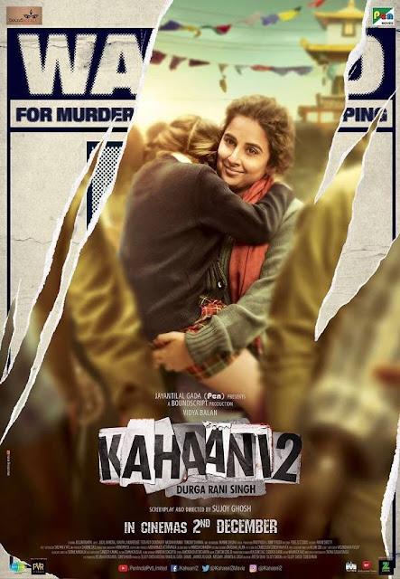 Kahaani 2 , Kahaani 2 Vidya Balan, Kahaani 2 Arjun Rampal, Kahaani 2 Poster , Kahaani 2 Image
