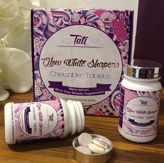 cara makan tati glow white shapers