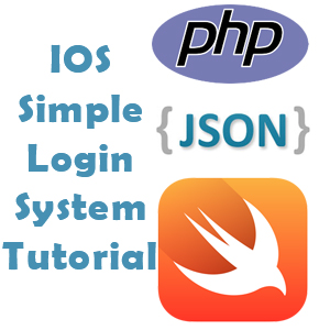 IOS: Creating a login in ios using swift and backend with