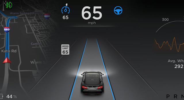 Tesla tuyên bố ra mắt hệ thống Autopilot phiên bản 8.0