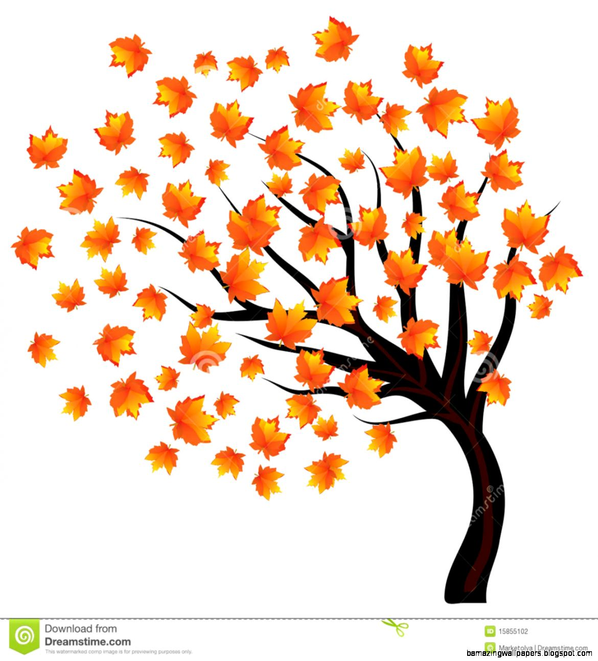 Autumn Tree Drawing   Amazing Wallpapers