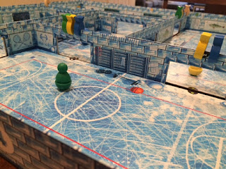 closeup of Ice Cool game
