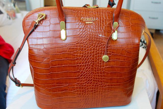 Fiorelli, bag, snake skin