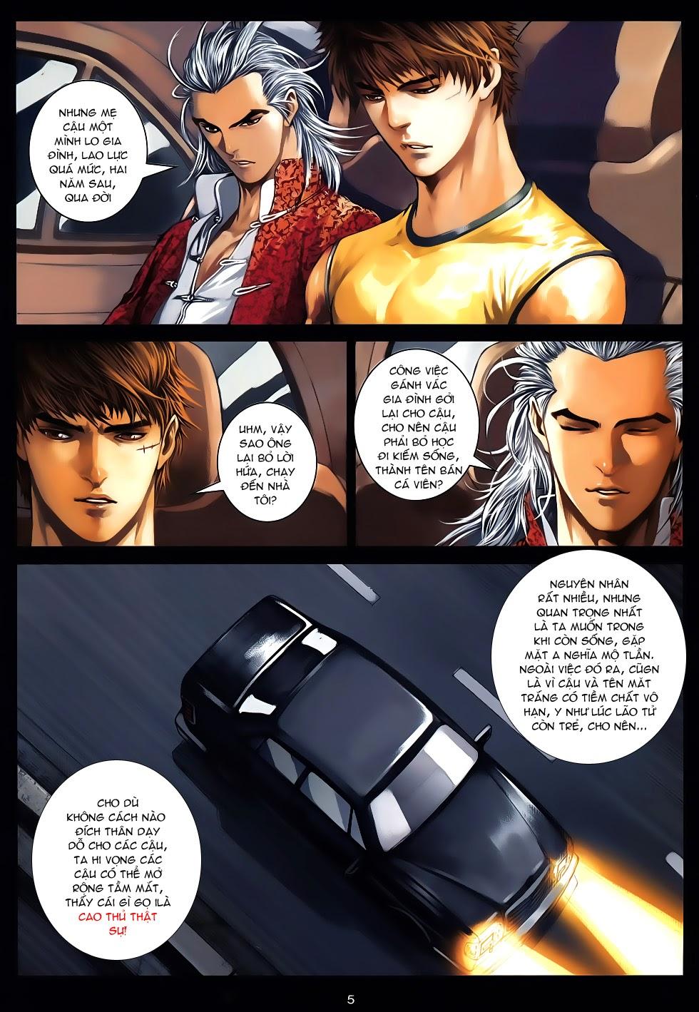Quyền Đạo chapter 12 - end trang 5