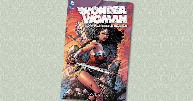 Wonder Woman Göttin des Krieges Panini Cover