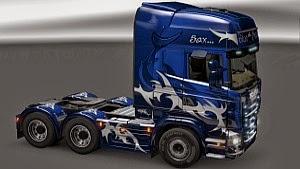 Scania BlueSaxShark skin