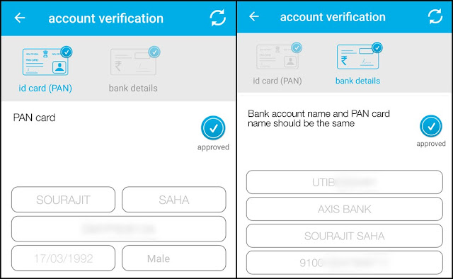 Zebpay verification