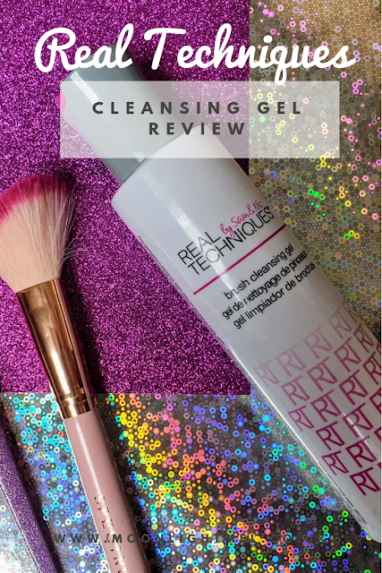 Real Techniques Brush Cleansing Gel | Review