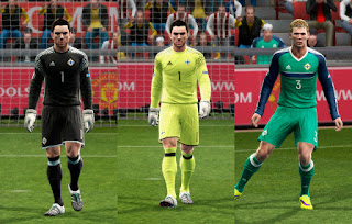 Northern Ireland GDB Euro 16 UPDATE Pes 2013