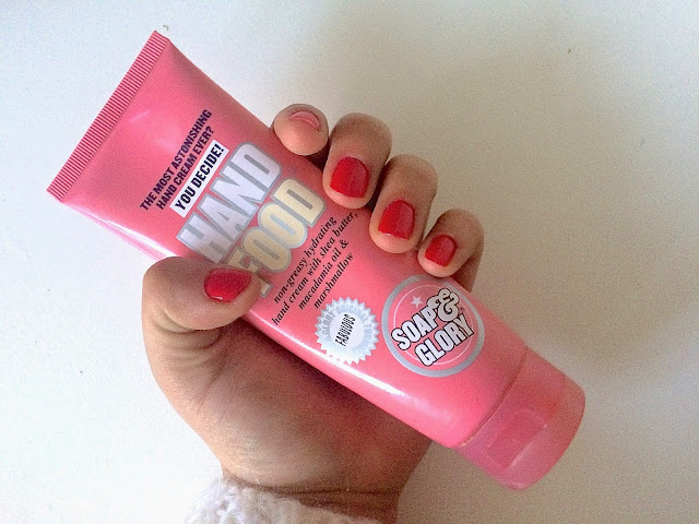 Hand food from Soap & Glory