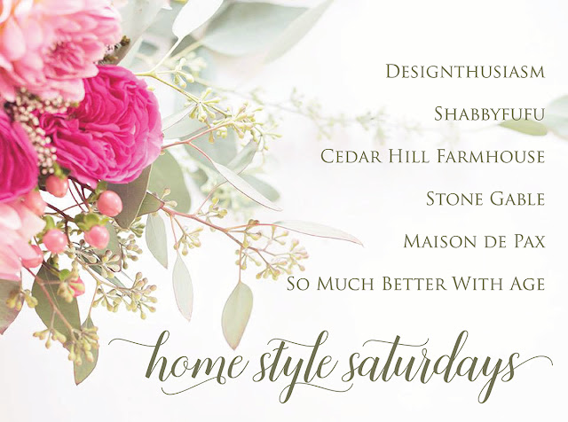 HomeStyle Saturdays at Shabbyfufu.com