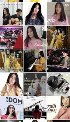 penampilan teteh rafa dengan lagu dangerous journey di indonesia national piano festival nurul sufitri mom lifestyle blogger event musik gold award