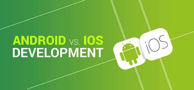 Android vs iOS App Development & Revenue [Infographic]