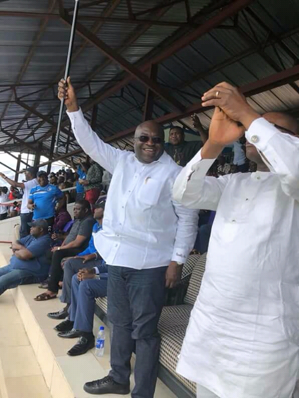 CAF Cup: @GovernorIkpeazu hails Enyimba for trouncing Rayon