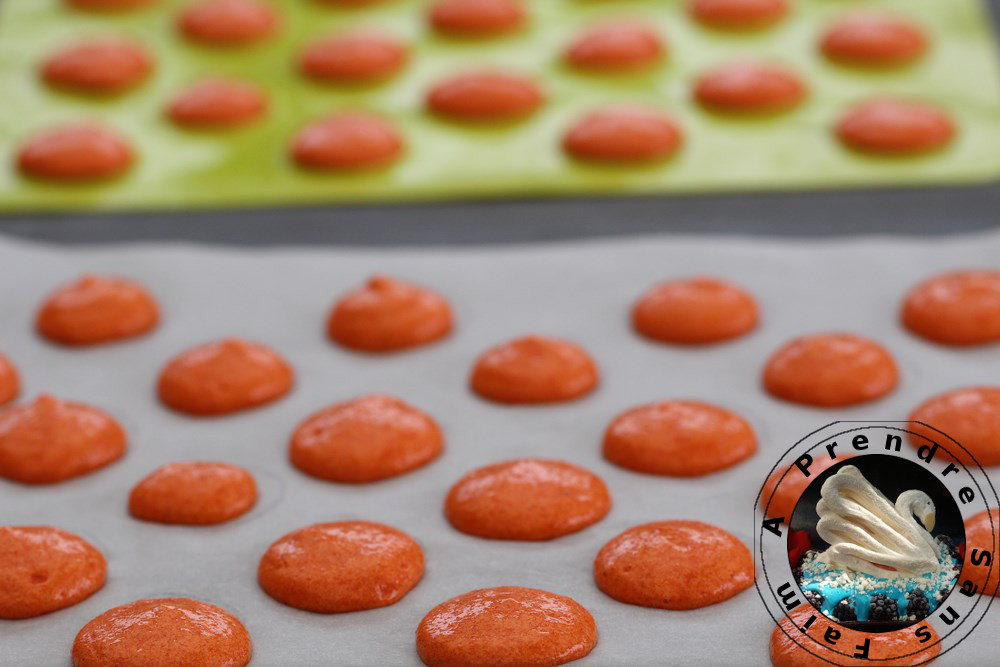 Macarons aux tomates