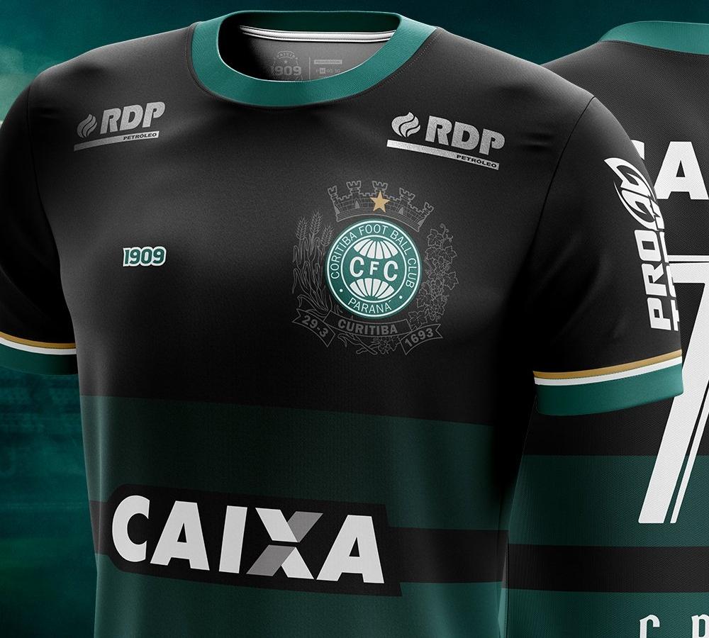 de3c64ac9c 1909 lança a nova terceira camisa do Coritiba - Show de Camisas