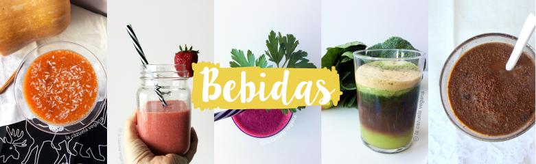 Bebidas veganas de La Cazuela Vegana