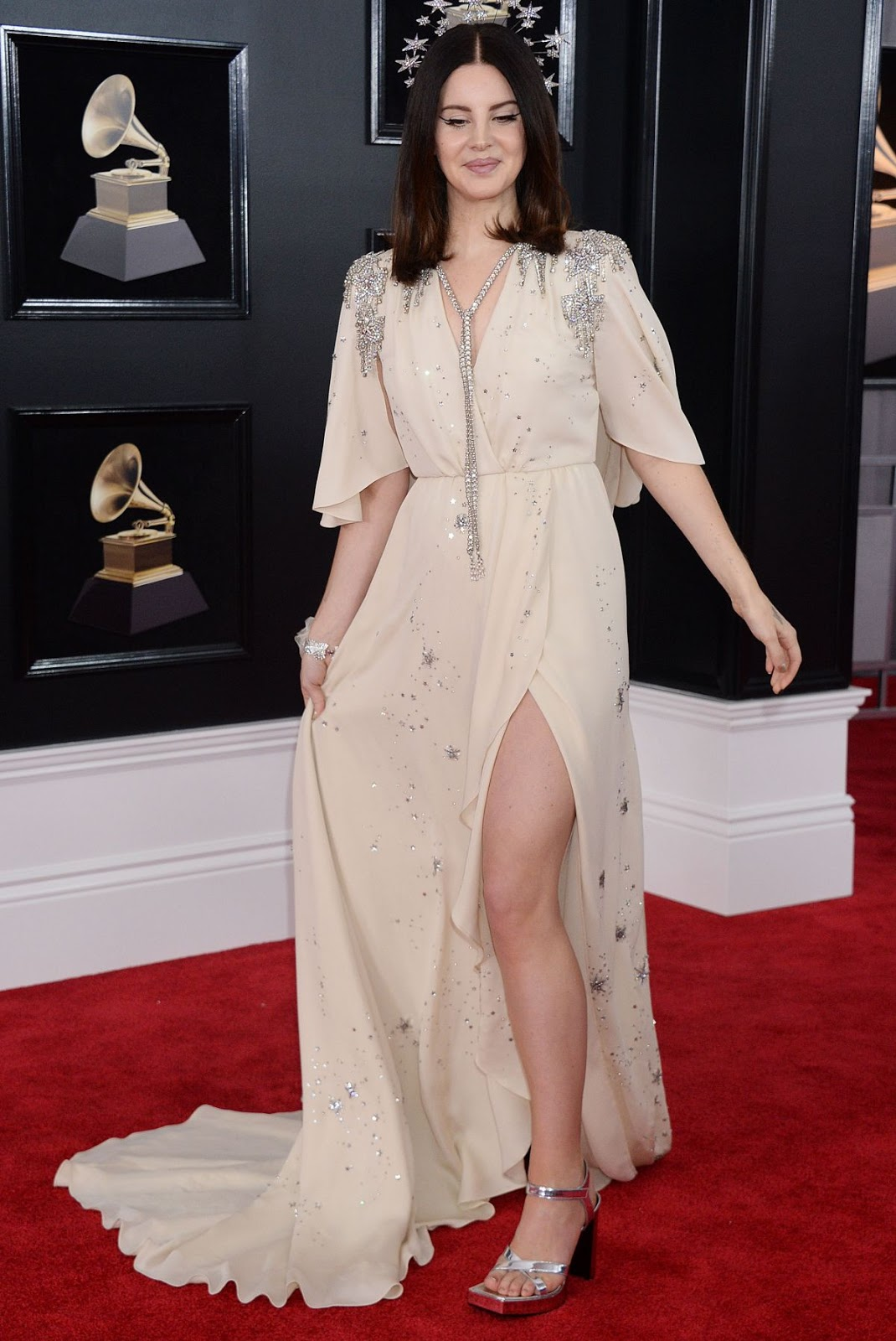 Lana Del Rey oozes off style at the 2018 Grammy Awards