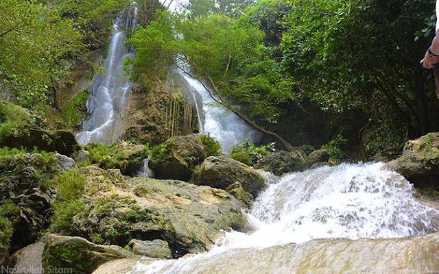 Air Terjun Sri Gethuk saat sepi pengunjung