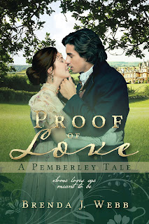Book cover: Proof of Love by Brenda Webb