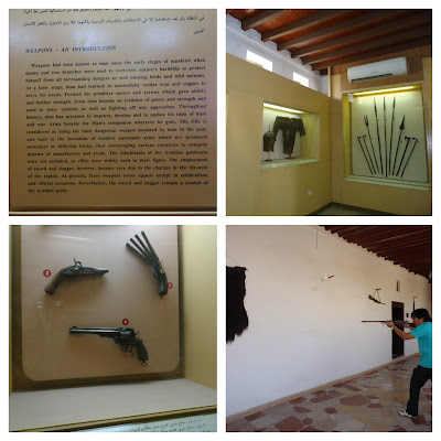 Weapons at Ajman Museum