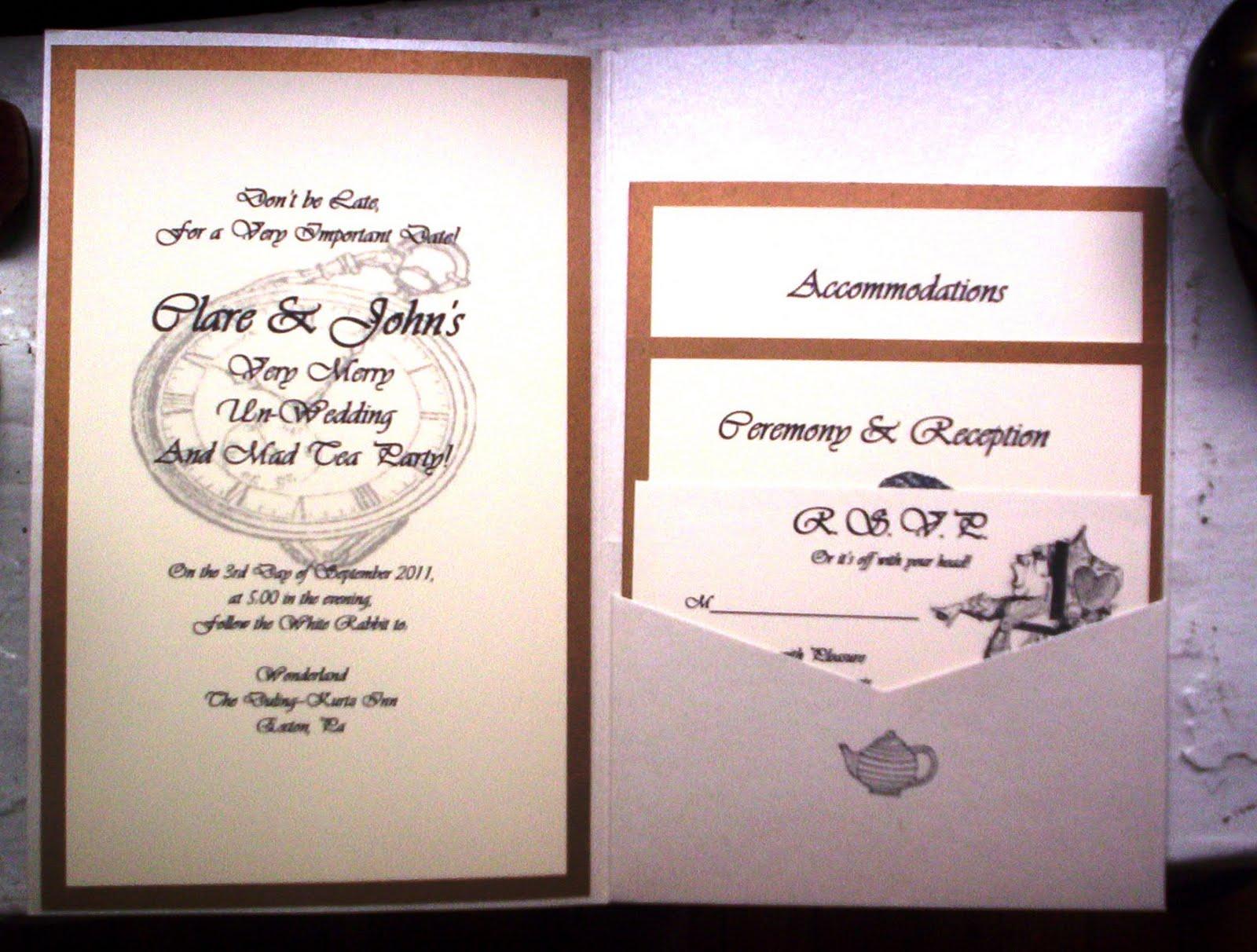 Wedding Invitations Diy Templates Free: DIY Weddings- Vintage Alice In Wonderland: DIY Wedding