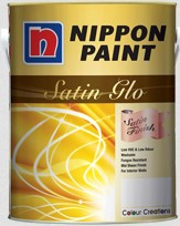 Harga Cat Nippon Paint Satin Glo