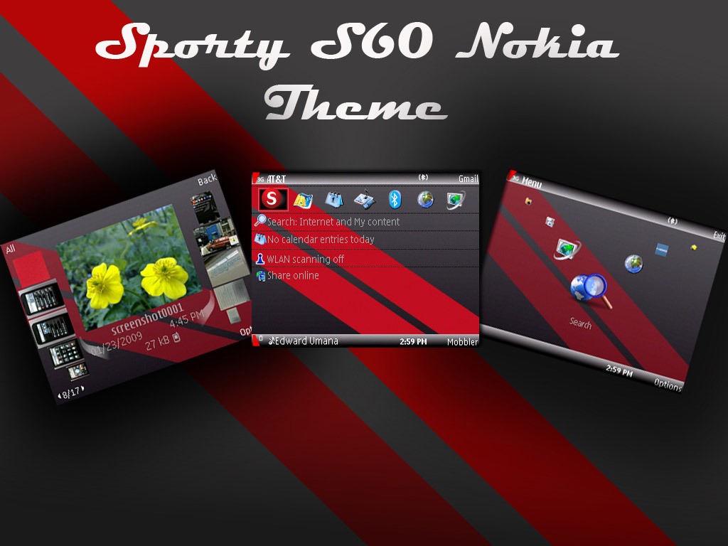 download animated themes for nokia 5233