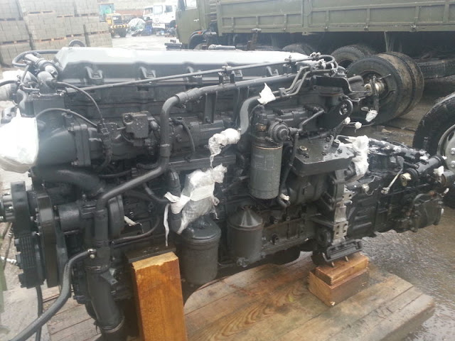 Động cơ Hyundai D6CC kim phun điện tử