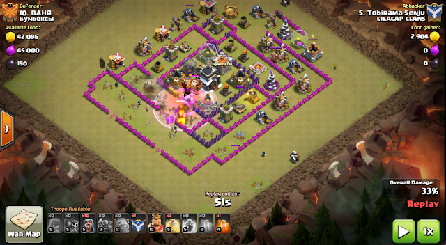 TH8 strategi war terbaik