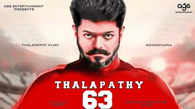 Thalapathy 63 Vijay Look