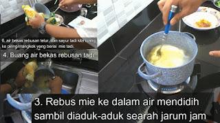 Ternyata Begini Cara memasak Mie instan yang Benar!