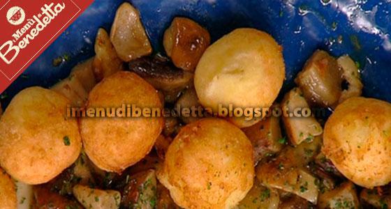 Crocchette di patate con funghi la ricetta di benedetta for Cucinare funghi