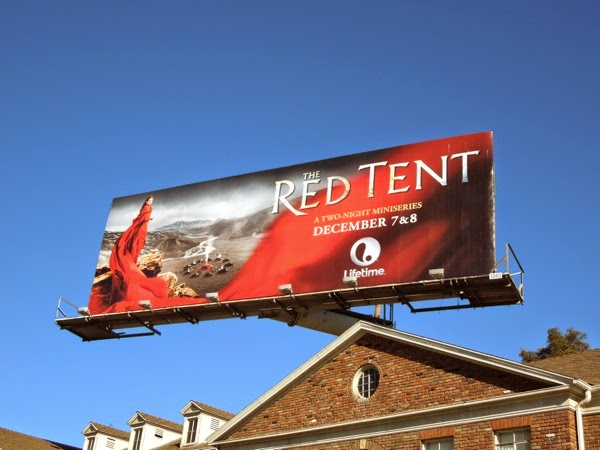 The Red Tent miniseries billboard