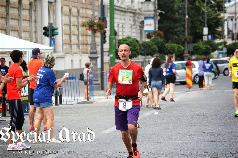 Maraton Arad 2014. Un eveniment REUŞIT în ciuda tuturor dificultăţilor. Florin Chindea în timpul concursului 02