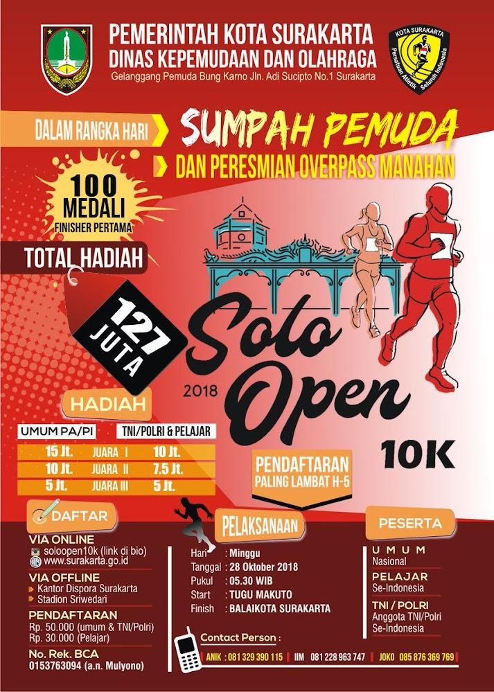 Solo Open 10K • 2018