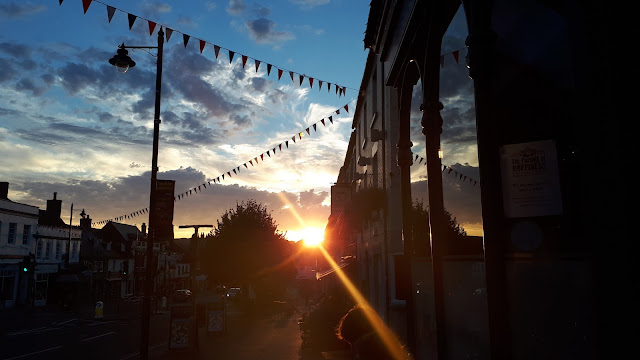 Project 365 2017 day 234 - Bridport sunset // 76sunflowers